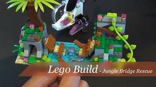 Lego Friends Jungle Bridge Rescue Set #41036 - Unboxing And Build