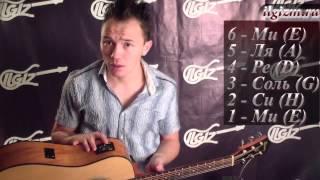 Как настроить гитару. Видео урок