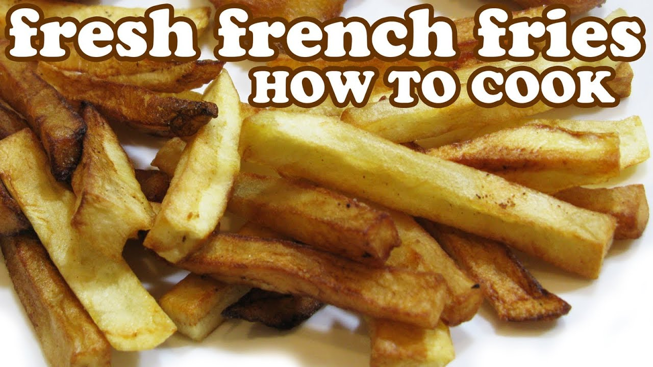 How to cook fries in a fryer