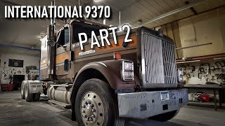 International 9370 🦅 Restoration - Part 2 - Welker Farms Inc