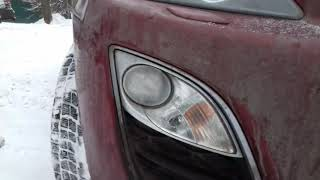 Mazda CX-7 замена ПТФ