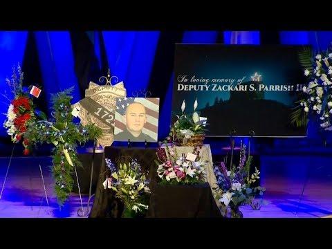 Funeral for Douglas County Deputy Zackari Parrish
