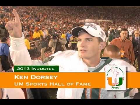 Ken Dorsey - University of Miami Sports Hall of Fame