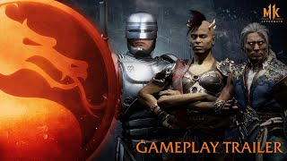 Mortal Kombat 11: Aftermath - Official DLC Gameplay Trailer with Robocop, Fujin & Sheeva (2020)