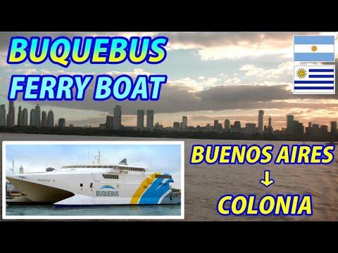 BUQUEBUS FERRY BOAT Buenos Aires, Argentina → Colonia del Sacramento, Uruguay