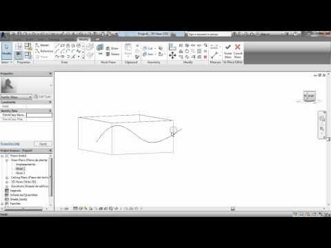Como hacer cubiertas curvas en revit; TUTORIAL REVIT  - MODELARQ
