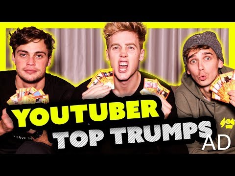 r Top Trumps ft Joe Sugg and Byron