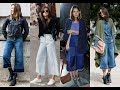 How to wear denim culottes this summer