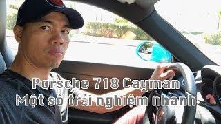 Một chút trải nghiệm: Porsche 718 Cayman