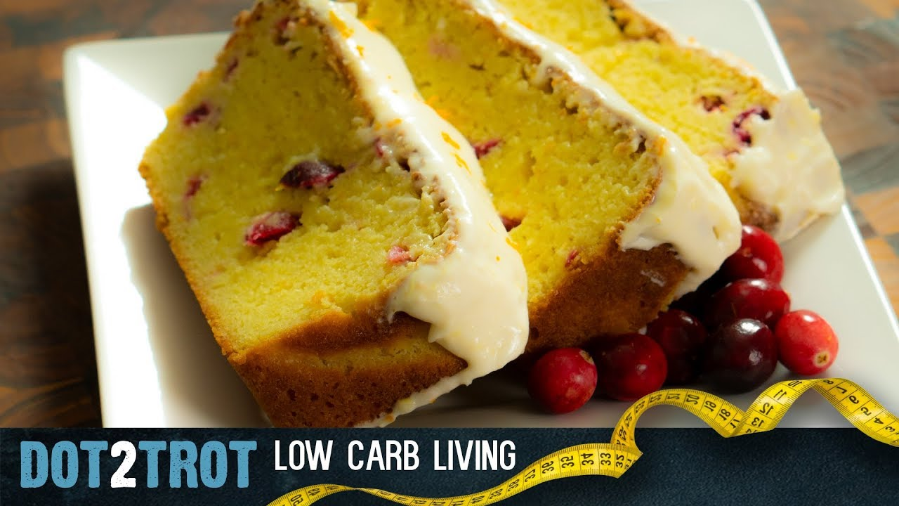 Pound Cake Recipe Keto: Holiday Keto Pound Cake (Cranberry / Orange)