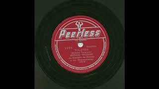 Antonio Tanguma - Yolanda - Peerless 5298 YouTube Videos