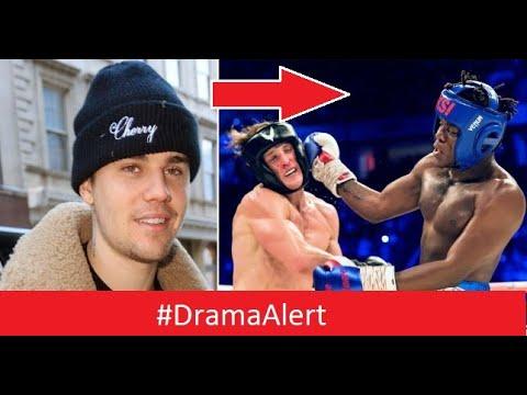 Justin Bieber dissed KSI!  #DramaAlert Shane Dawson vs James Charles! ( HOT ) thumbnail