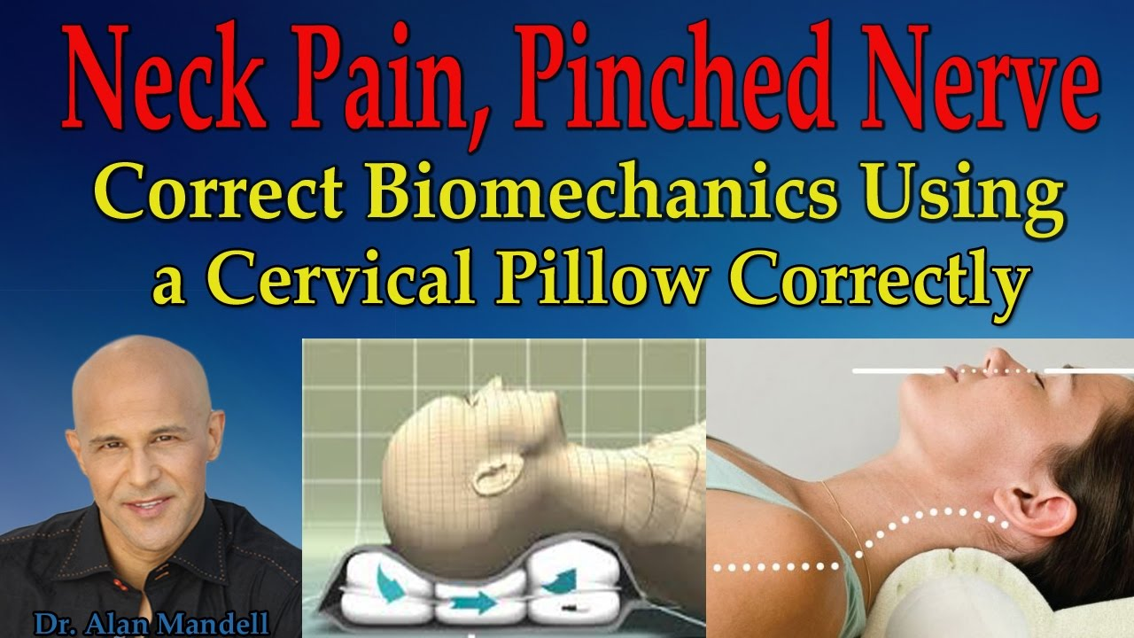Neck Pain, Pinched Nerve, Loss of Neck Curve (The Correct Way to