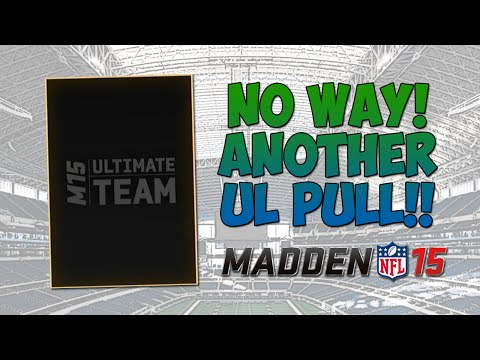 Another Ultimate Legend Pull! - Madden 15 Ultimate Team | Boss Steve Atwater & James Harrison