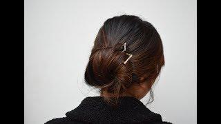 How to Use Kanzashi Style Hair Sticks
