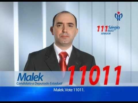 Propaganda Eleitoral - Deputado Estadual Malek 11011