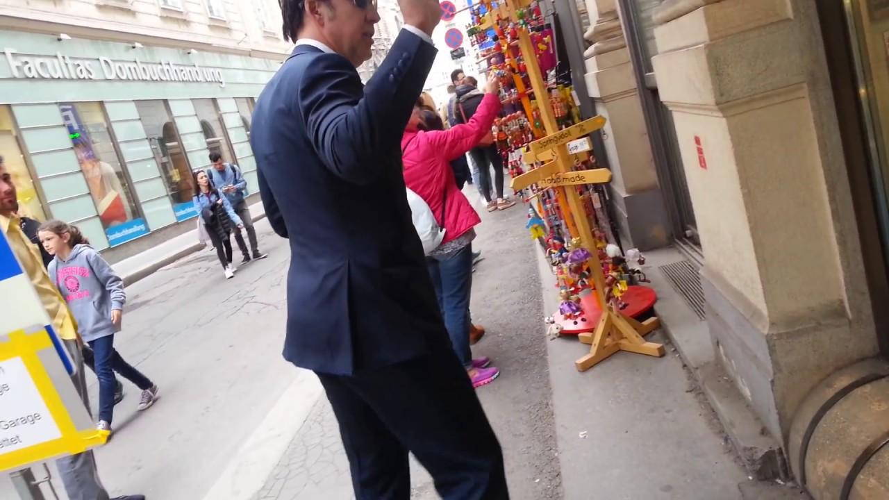 Nicolas Cage in Vienna City 16 April 2017 © ej.wien