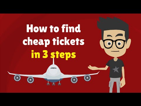 HOW TO FIND THE CHEAPEST FLIGHTS IN 3 STEPS – Cheap Airfare Tickets Trick: Get Cheap Airline Tickets