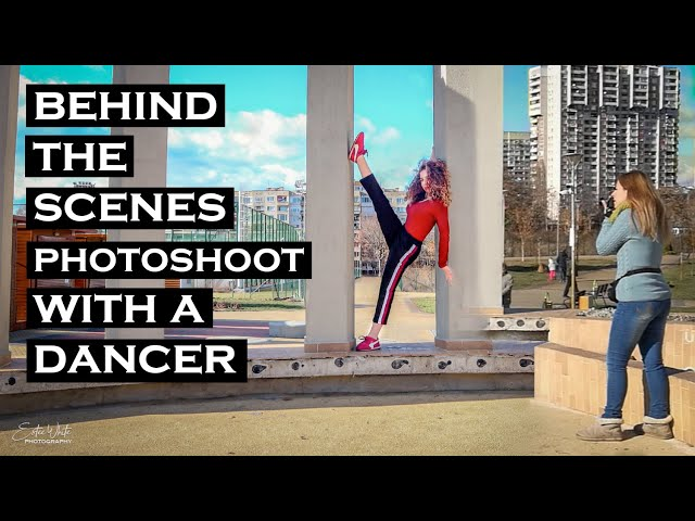 Behind The Scenes Photoshoot With a Dancer - Aleksandra | Estee White Photography