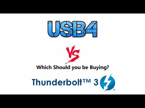 USB4 vs Thunderbolt3 - Which Should you Invest In for the Future