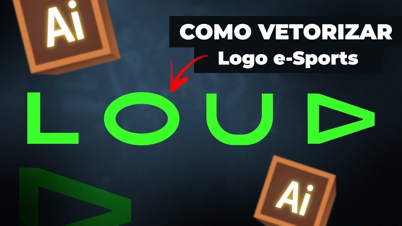 (MUITO FÁCIL) Como fazer logotipo de e Sport | LOUD Free Fire