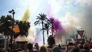 Mascleta Nou d'Octubre - Pyrotechnicians Zarzoso  - Daytime Fireworks - Valencia, Spain