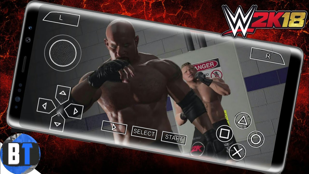 How To Download WWE 2k18 Psp Ultra HD Graphics Mod On Android