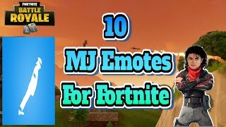 10 Michael Jackson Emote Ideas That Should Be In Fortnite