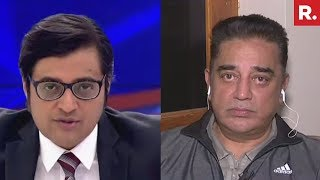 MNM Chief Kamal Haasan Speaks Exclusively To Arnab Goswami On Cyclone Gaja Relief Ops