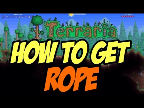 Terraria: Xbox 360 1.2 - how to get rope