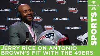 """NFL legend Jerry Rice thinks Antonio Brown would be """"great addition"""" to San Francisco 49ers"""