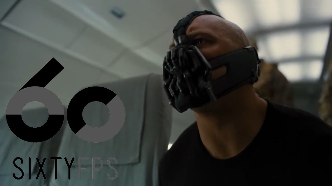 Download [60FPS] The Dark Knight Rises Bane plane scene 60FPS HFR HD
