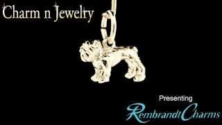 Bulldog Gold Charm Style 1559