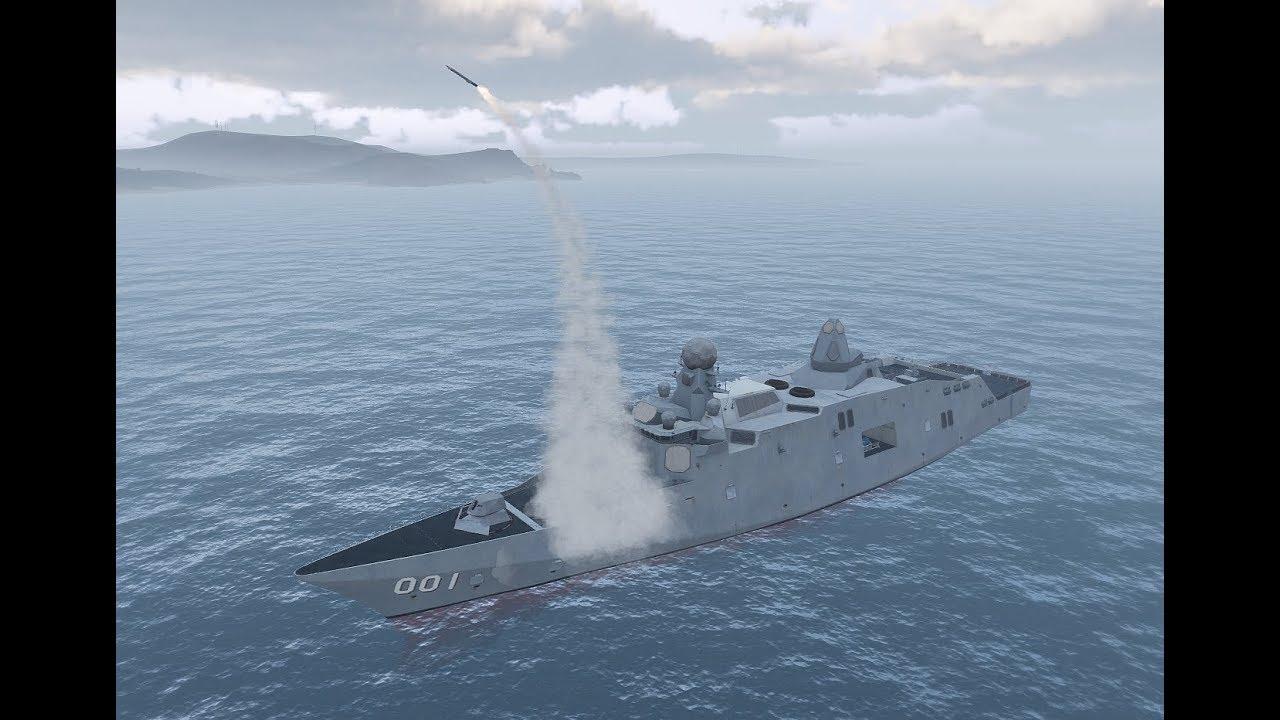 Arma 3 Venator Cruise Missile Usage