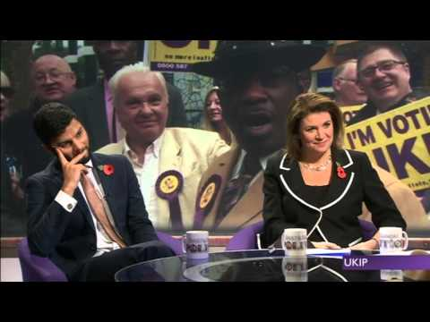 Is UKIP racist? Another car crash interview with Winston McKenzie