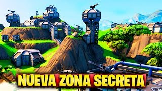 NEW AREA THE SECRET MILITAR BASE OF THE HELICOPTER in FORTNITE (UPDATE 8.30)