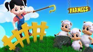 Little Bo Peep   Nursery Rhymes   Kids Songs For Toddlers by Farmees