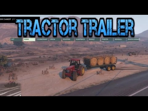 gta v mods tractor trailer youtube. Black Bedroom Furniture Sets. Home Design Ideas