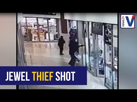 WATCH: Durban jewellery store owner fires back at robbers, kills one