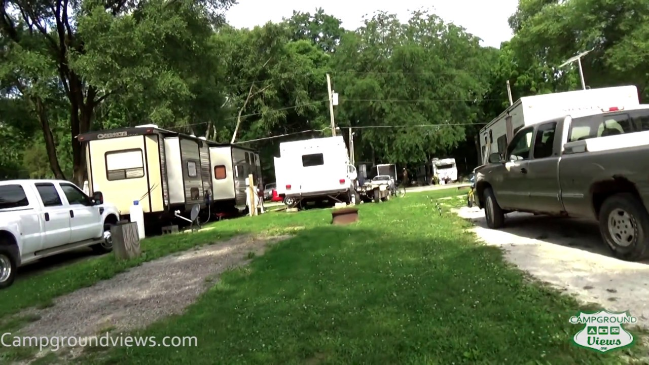 Lakeside RV Park Davenport Iowa IA