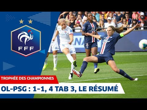 Buts Et Occasions D'OL-PSG, 1-1, 4 Tab 3/Trophée Des Championnes I FFF 2019