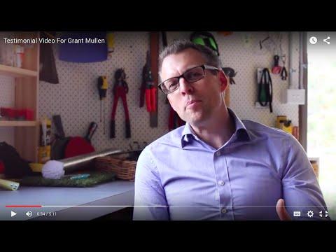Testimonial Video For Grant Mullen