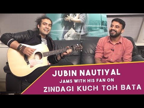 Exclusive Video - Jubin Nautiyal Sings Zindagi Kuch Toh Bata with His Lucky Fan