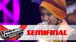 "Sharla ""Hide & Seek"" | Semifinal | The Voice Kids Indonesia Season 2 GTV"