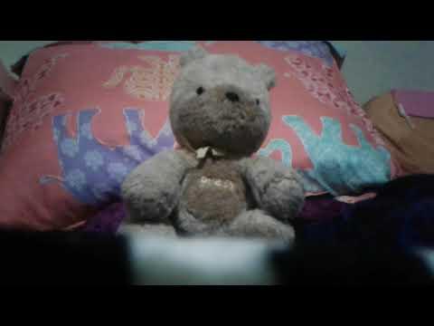 The bear scary doll.