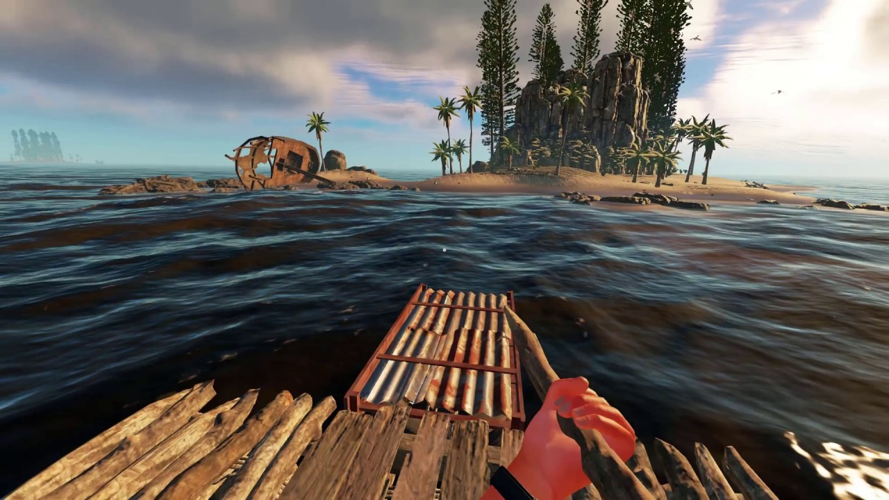stranded deep how to break container
