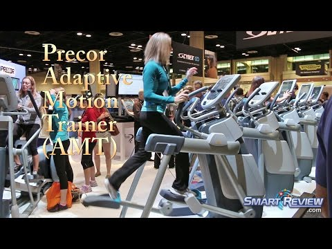 AMT® 835   Precor Adaptive Motion Trainer Demonstration   Open Stride Technology   SmartReview.com