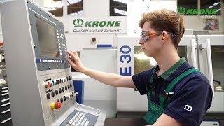 Ausbildung bei KRONE – Zerspanungsmechaniker (m/w/d)