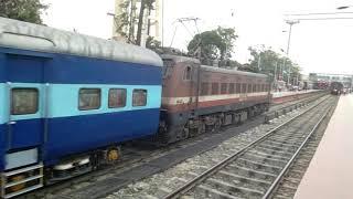 Electrification Kiul Bhagalpur 1st Arrival of Elcos Mgs WAP4