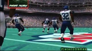 "LMFAO! Most BS ""Catch"" Ever! - NFL Quarterback Club 2001 - Dreamcast - HD"